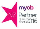 MYOB Partner Of The Year