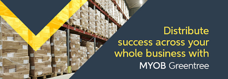 Distribute Success across your whole business with MYOB Greentree